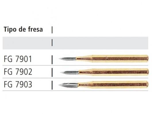 FRESA CONICA DE PUNTA AGUJA...