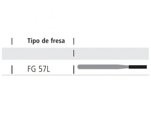 FRESA CILINDRICA 57L PARA...