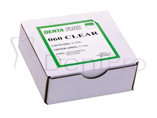 PLANCHAS 060 CLEAR 1.5mm. 25u.