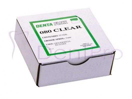 PLANCHAS 080 CLEAR 2mm. 25u.