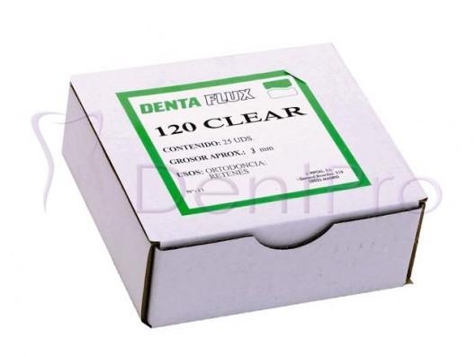 PLANCHAS 120 CLEAR 3mm. 12u.