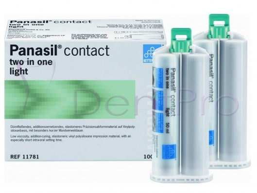 PANASIL CONTACT TWO IN ONE...