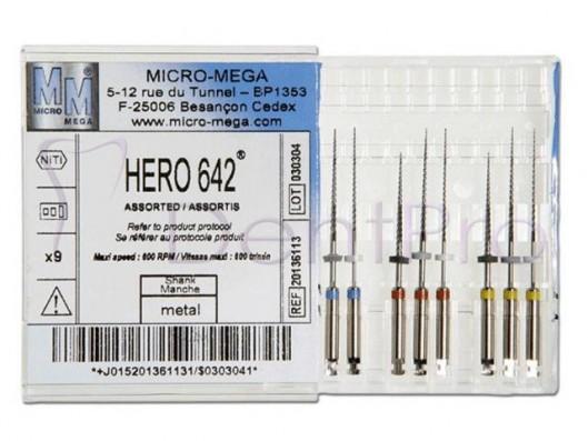 LIMAS HERO 642 SURTIDO 9u.