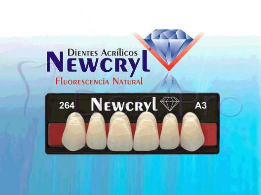 DIENTES ACRÍLICOS NEWCRYL...