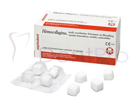 HEMOCOLLAGENE 15x15x8mm....