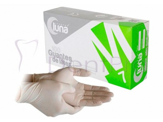 GUANTES LATEX SIN POLVO...
