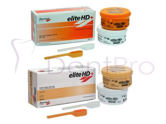 ELITE HD+ PUTTY SOFT 2x250ml.
