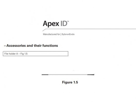 APEX ID FILE HOLDER A